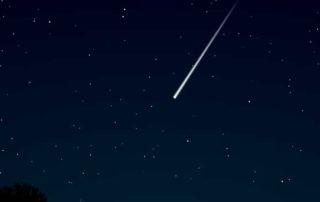 última lluvia de estrellas del año
