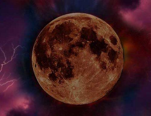 Luna llena de acuario y eclipse lunar total (27/28 jul 2018)