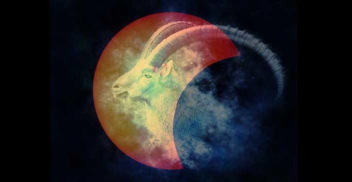 luna nueva de capricornio y eclipse solar parcial