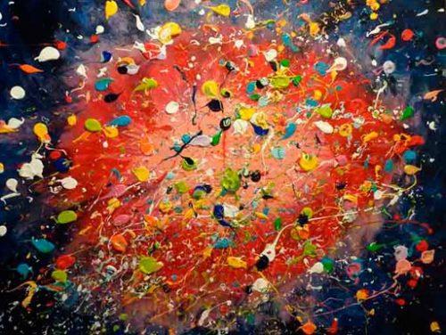 sesión arte explosión