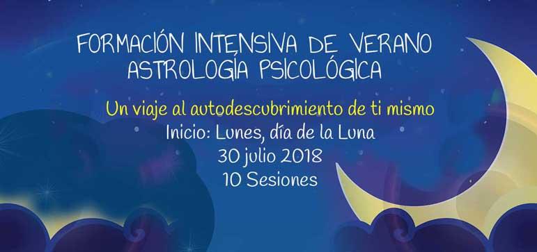 Curso Astrología Psicológica Barcelona