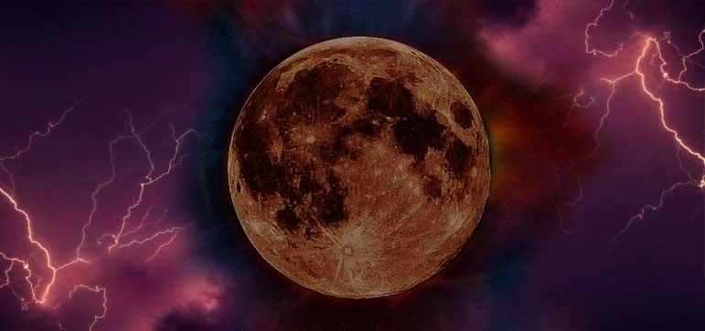 luna llena de acuario y eclipse lunar total 2018