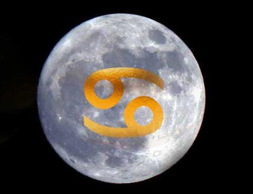 Luna llena en cáncer y eclipse parcial (10 enero 2020)