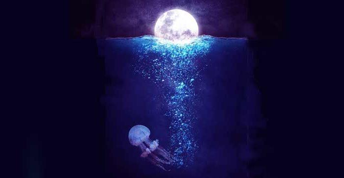 luna llena oscura